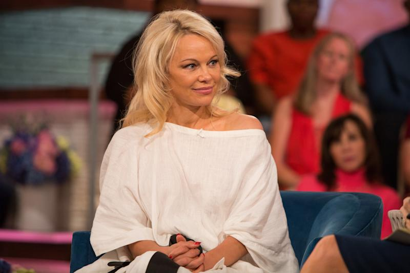 Pamela Anderson has reportedly split with Jon Peters, her husband of 12 days. (Photo: Nathan Congleton/NBC/NBCU Photo Bank)
