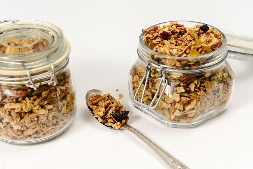 "<p>The company experimented with the idea of launching its own product line of <a href=""https://www.traderjoes.com/our-story"" rel=""nofollow noopener"" target=""_blank"" data-ylk=""slk:granola"" class=""link rapid-noclick-resp"">granola</a>—and no one's looked back since.</p>"