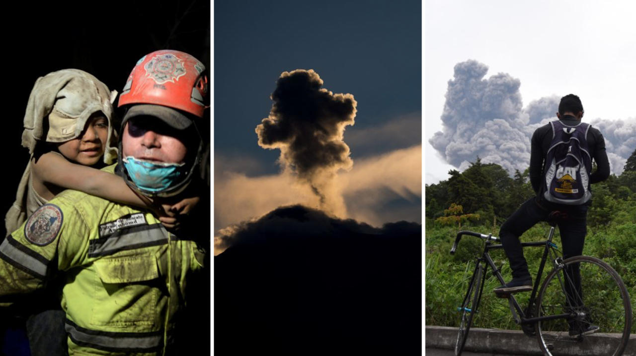 <p>Hundreds of people have been affected by the volcano. (Getty) </p>
