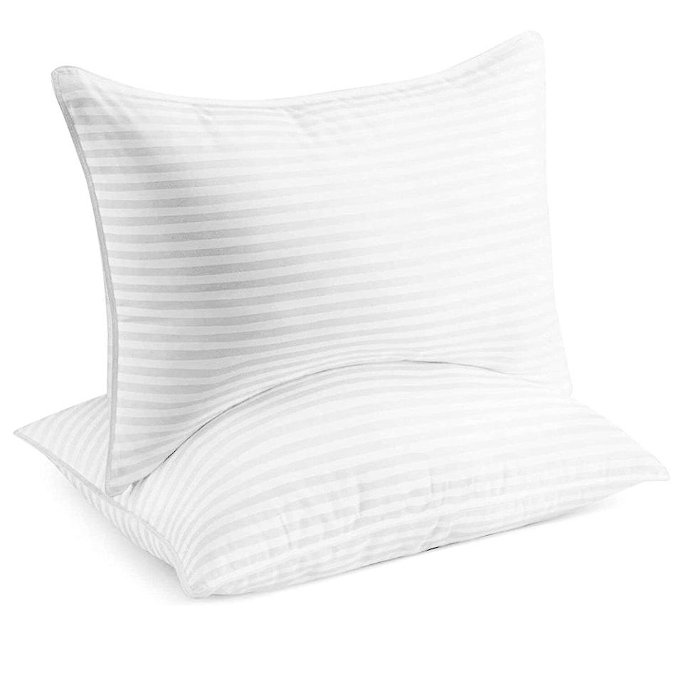 Beckham Hotel Collection Bed Pillows for Sleeping - Queen Size, Set of 2