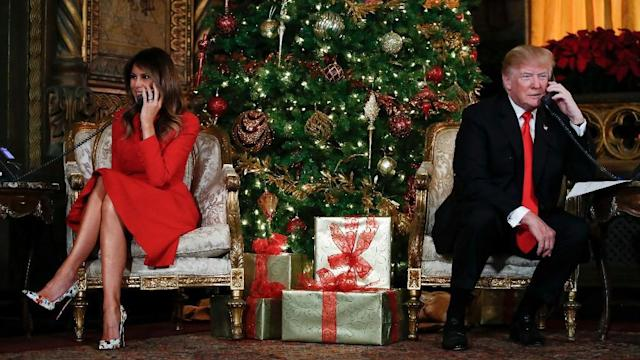 <p>On Christmas Eve, US President Donald Trump took calls from children, asking them what they wanted most from Santa. </p>