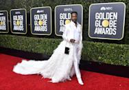 """<p>The actor and singer has been working on Broadway for years, but recently skyrocketed to fame with his Emmy Award-winning turn in <em>Pose</em>. But <a href=""""https://youtu.be/XeAfeb-GOW4?t=431"""" rel=""""nofollow noopener"""" target=""""_blank"""" data-ylk=""""slk:back in 1992"""" class=""""link rapid-noclick-resp"""">back in 1992</a>, Porter actually won the male vocalist category on <em>Star Search</em>.</p>"""