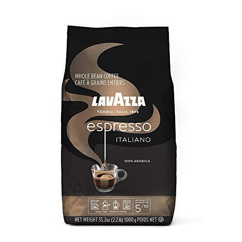 """<p><strong>Lavazza</strong></p><p>amazon.com</p><p><strong>$14.98</strong></p><p><a href=""""https://www.amazon.com/dp/B00P0ZMWEC?tag=syn-yahoo-20&ascsubtag=%5Bartid%7C1782.g.33013485%5Bsrc%7Cyahoo-us"""" rel=""""nofollow noopener"""" target=""""_blank"""" data-ylk=""""slk:BUY NOW"""" class=""""link rapid-noclick-resp"""">BUY NOW</a></p><p>Reviewers love Lavassa's dark roast <a href=""""https://www.amazon.com/Lavazza-Ground-Coffee-Espresso-8-8-Ounce/dp/B001E5E0D8?tag=syn-yahoo-20&ascsubtag=%5Bartid%7C1782.g.33013485%5Bsrc%7Cyahoo-us"""" rel=""""nofollow noopener"""" target=""""_blank"""" data-ylk=""""slk:Crema e Gusto"""" class=""""link rapid-noclick-resp"""">Crema e Gusto</a>, but the Italian brand's medium roast espresso beans may be some of the best you can get for homemade cup of espresso. None of the bitterness or bite that turn people off of espresso exist here; you'll taste fruity notes in this coffee.</p>"""