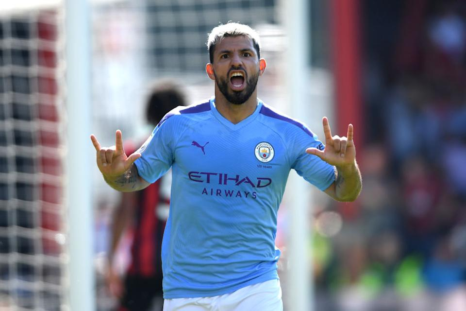 <strong>Sergio Agüero</strong> (31 ans) : Manchester City / Argentine.