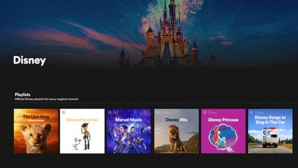 PHOTO: First ever Disney music hub launches on Spotify. (Spotify)