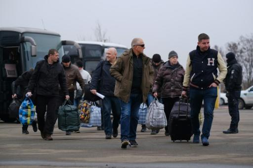 Pro-Russian detainees - who were made prisoners - were part of an exchange between the Ukraine conflict rivals