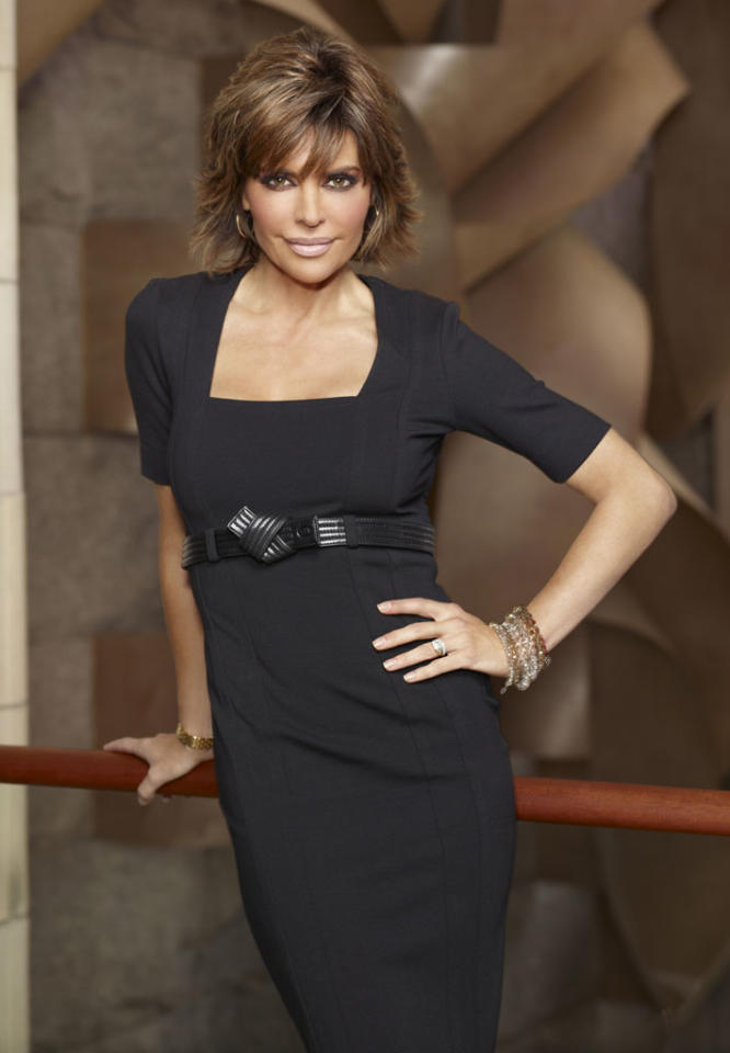 "Lisa Rinna will compete on the first ever ""All-Star Celebrity Apprentice."""