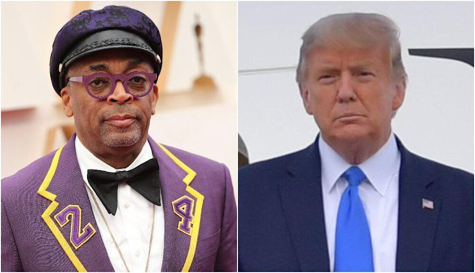 Spike Lee and Donald Trump (Photo: Shutterstock)