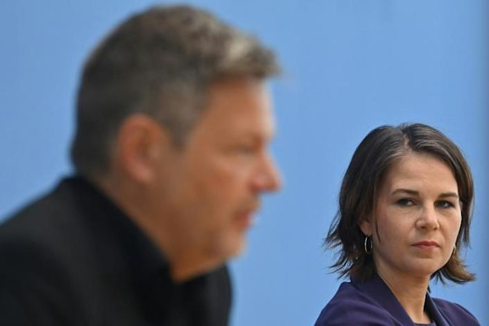 The Green's Annalena Baerbock said it was time for 'a fresh start' (AFP/John MACDOUGALL)