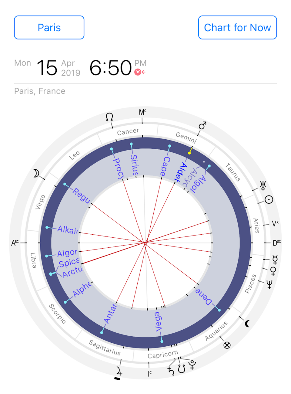 "<p><strong><strong><strong>Perfect for: </strong></strong></strong>Staying up-to-date with the planets' movements</p><p><strong>Cost: </strong>Free with add-on packs, but no recurring charges</p><p>Think of Time Nomad as the ultimate astrological calculator. The app is especially useful in the present tense, and understanding how astrological transits could be affecting you at this moment in time, if you're a believer. Or, you can see what the stars may have in store at a future date. It's possible to add a feature for other people (or companies and world trends), so you can see what's coming up in your friends' lives, too. </p><p><a class=""link rapid-noclick-resp"" href=""https://apps.apple.com/us/app/time-nomad/id1092841332"" rel=""nofollow noopener"" target=""_blank"" data-ylk=""slk:Download Now"">Download Now</a></p>"