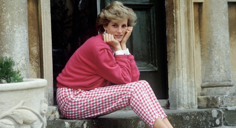 Princess Diana at Highgrove House in 1986 (Getty)