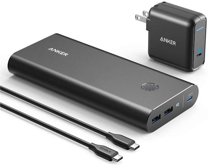 Anker PowerCore+ 26800mAh PD charger