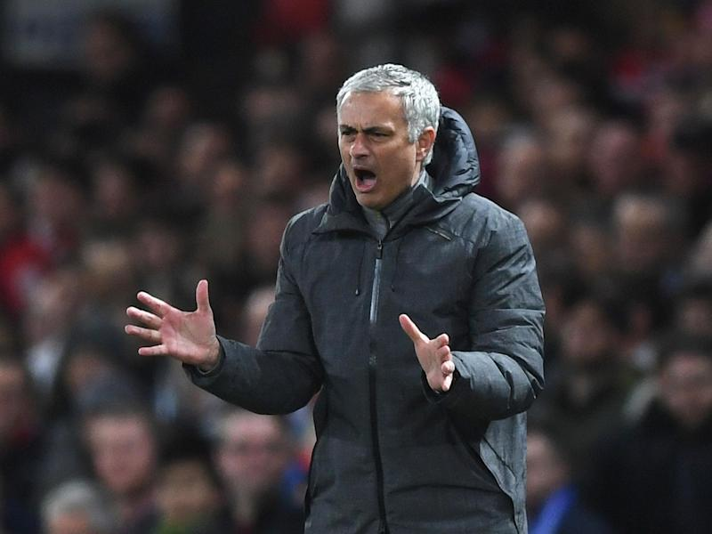 Jose Mourinho has presided over a dreadful home run: Getty