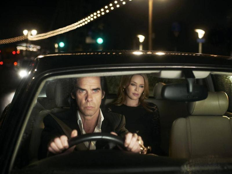 Nick Cave seducing Kylie Minogue on 'Where The Wild Roses Grow' was a weird and wonderful collaboration (Rex)