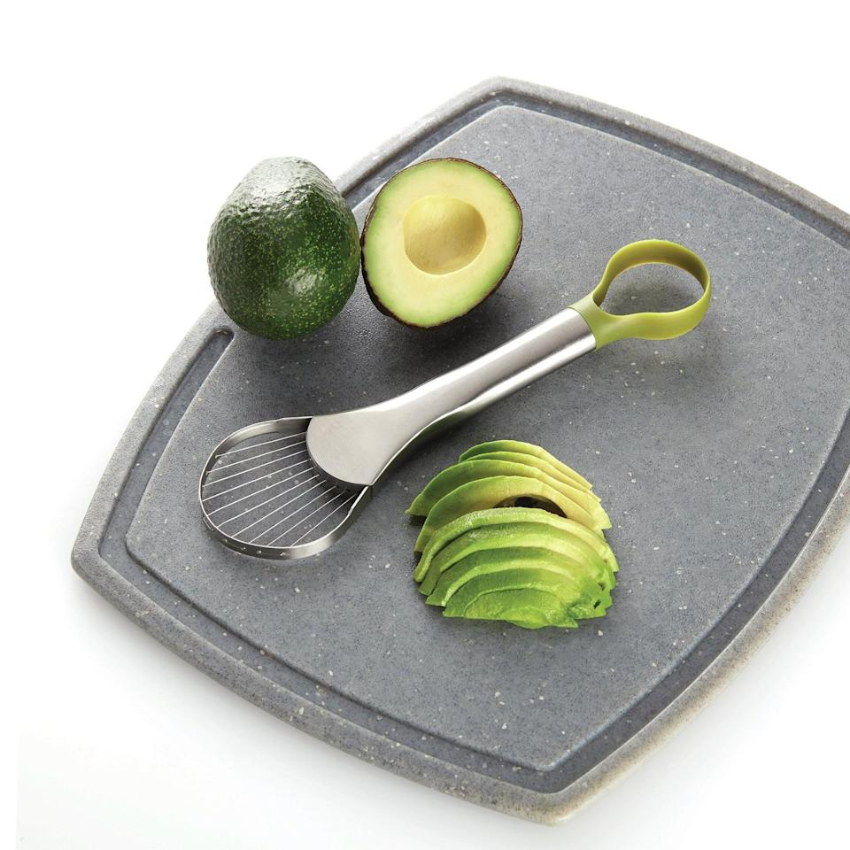 "<p>Cutting an avocado will be easier than ever with the <a href=""https://www.popsugar.com/buy/Amco-Houseworks-Avocado-Slicer-amp-Pitter-579050?p_name=Amco%20Houseworks%20Avocado%20Slicer%20%26amp%3B%20Pitter&retailer=wayfair.com&pid=579050&price=21&evar1=casa%3Aus&evar9=47534702&evar98=https%3A%2F%2Fwww.popsugar.com%2Fhome%2Fphoto-gallery%2F47534702%2Fimage%2F47534825%2FAmco-Houseworks-Avocado-Slicer-Pitter&list1=gadgets%2Ckitchens%2Chome%20shopping%2Cwayfair&prop13=mobile&pdata=1"" class=""link rapid-noclick-resp"" rel=""nofollow noopener"" target=""_blank"" data-ylk=""slk:Amco Houseworks Avocado Slicer &amp; Pitter"">Amco Houseworks Avocado Slicer &amp; Pitter</a> ($21).</p>"