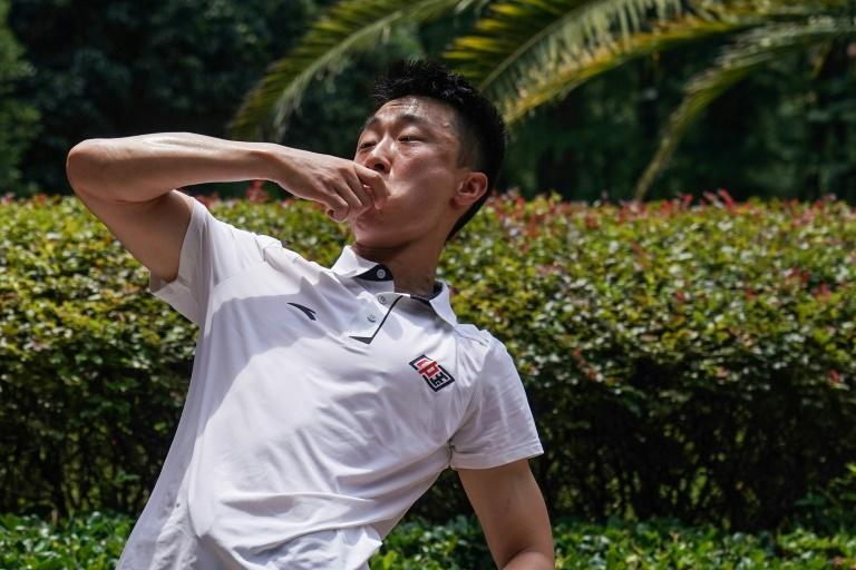 Staggering and punching, but sober: China's 'drunken boxers'