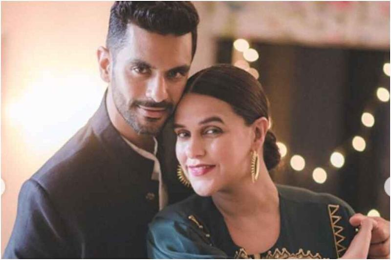 Angad Bedi Thanks Neha Dhupia for Accepting Him with Imperfections