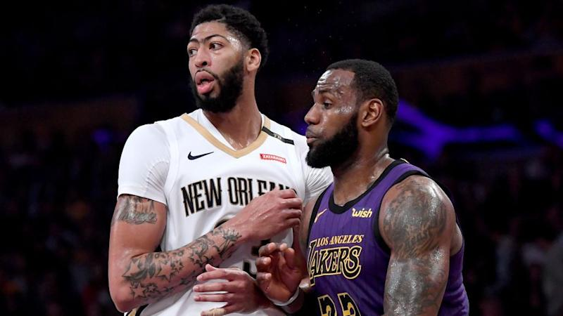 Pelicans  Plan for Anthony Davis to play 20-23 minutes 1b3435d81