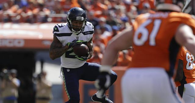 Earl Thomas got an interception in Sunday's loss to the Broncos. (AP)
