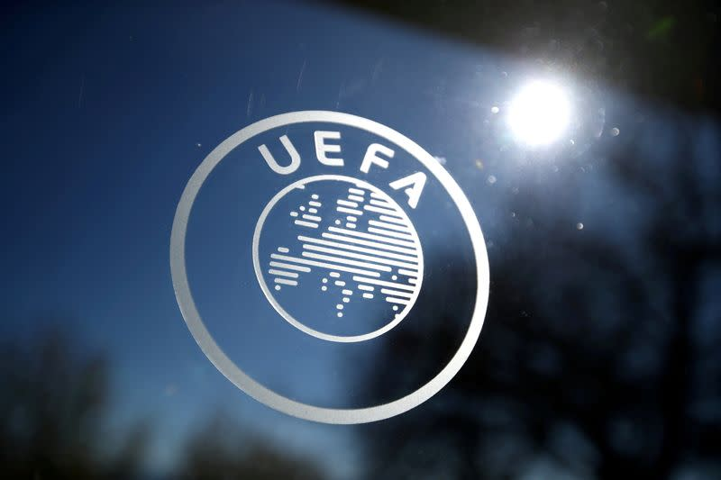 FILE PHOTO: Europa League - Round of 16 draw