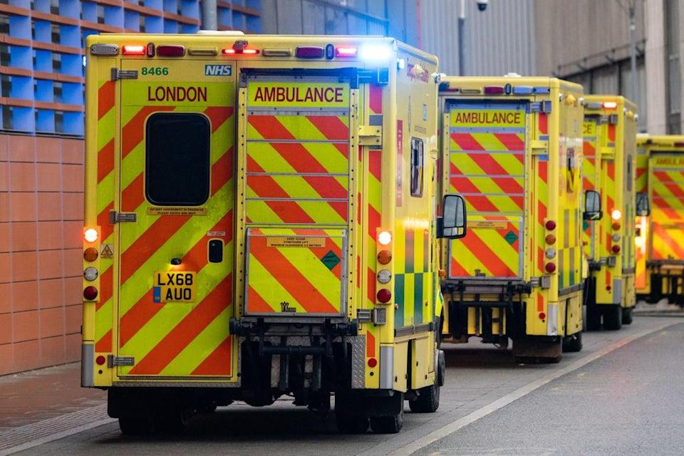 Ambulance drivers have also been approached (Dominic Lipinski/PA) (PA Archive)
