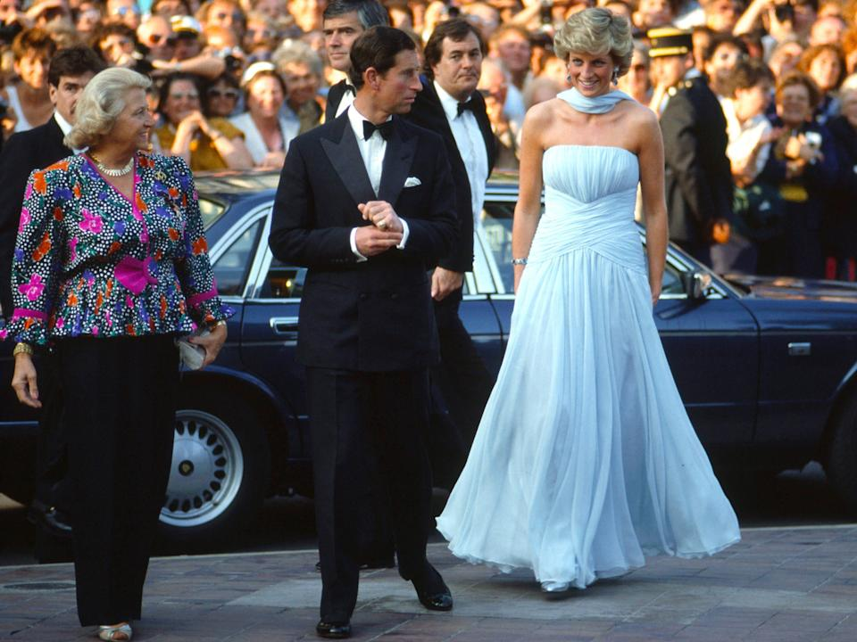 princess diana cannes film festival 1987