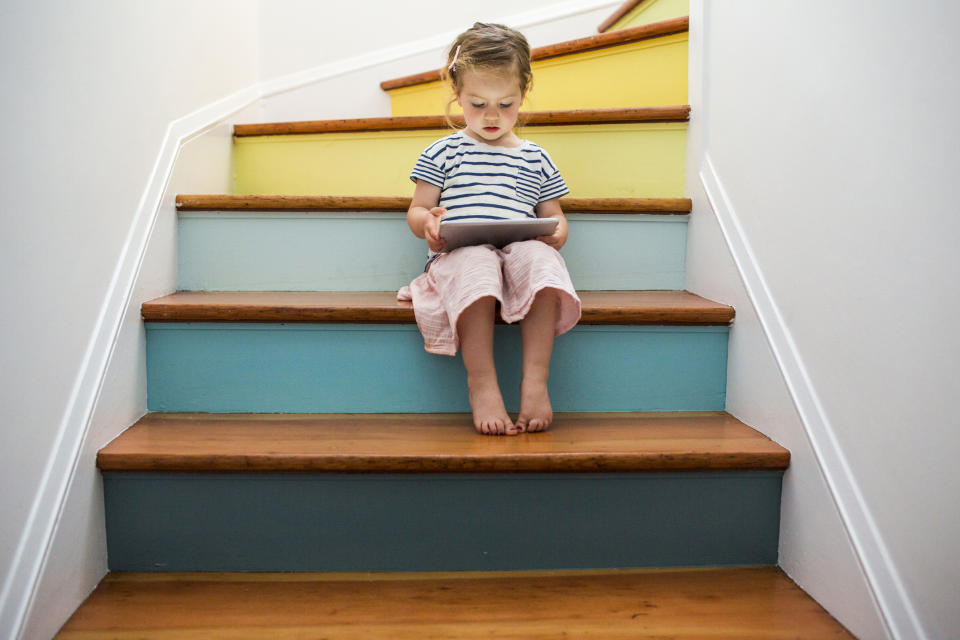 A new report by Barnado's has raised concerns about toddler exposure to social media [Photo: Getty]