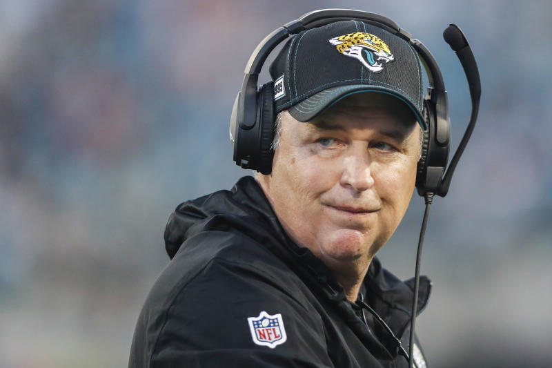 Doug Marrone plans to deal with his potential firing like a lot of folks would. (James Gilbert/Getty Images)