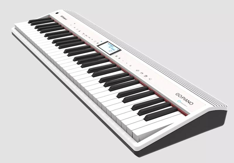 An updated version of the Roland Go: Piano will come with Alexa built-in. Source: Roland