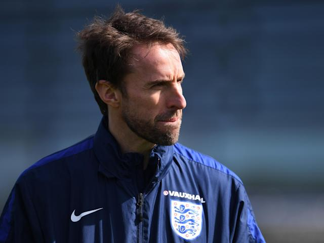 Southgate will take charge of his fifth match against Lithuania: Getty