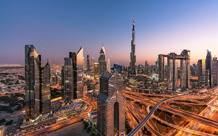 Dubai may be a little more sedate this month - Getty