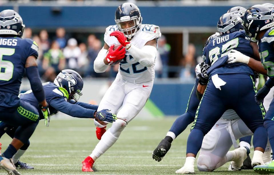 Derrick Henry carved up the Seahawks on Sunday