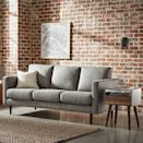 <p>If you're looking for comfortable sofa, then try this <span>Rivet Revolve Modern Upholstered Sofa Couch</span> ($743). One of Amazon's bestsellers, it has over 1,000 great reviews and comes in several shades. </p>