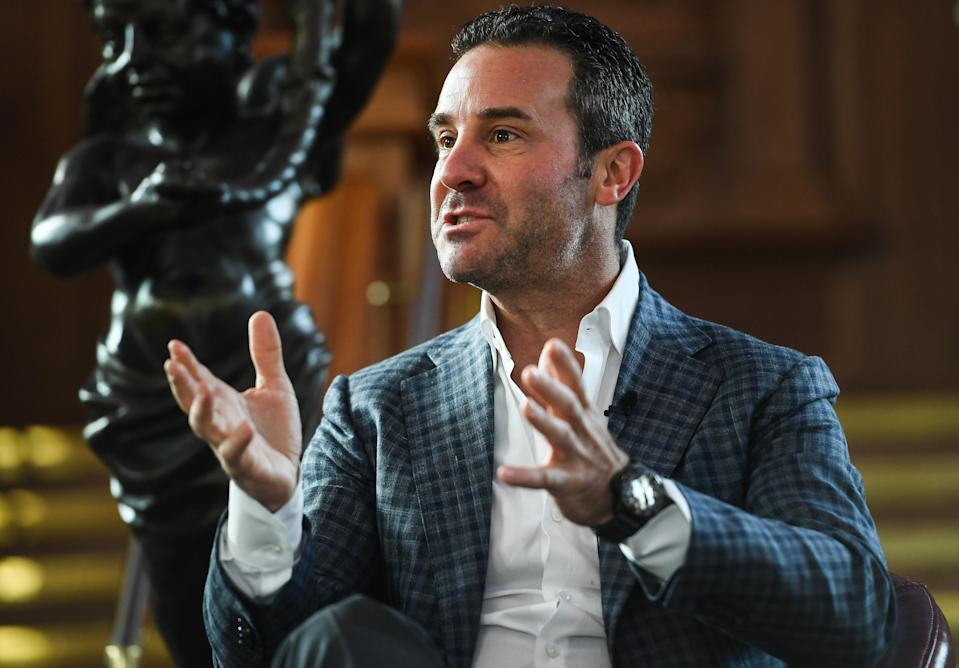 Todd DuBoef, CEO of Top Rank, left HBO in 2017 as the network struggled to regain its influence in the boxing landscape. (Photo By Ramsey Cardy/Sportsfile via Getty Images)