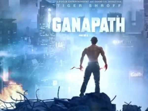 A still from teaser of 'Ganapath' (Image Source: Instagram)