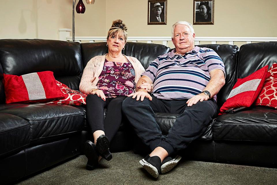 Pete and Linda and their son George Gilbey became household names in 2013 after joining the hit show (Channel 4)