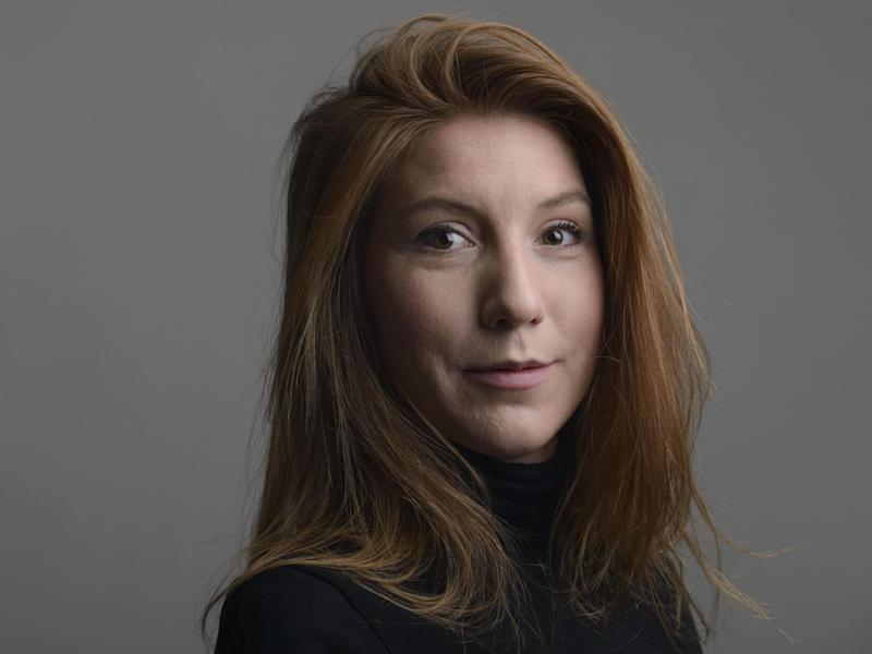 Swedish journalist Kim Wall: AP