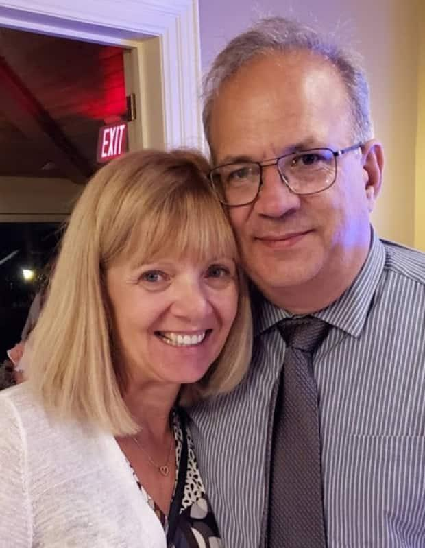 Bill Chernoff and wife of nearly 20 years, Tammie Chernoff of Chilliwack.  (Submitted by Tammie Chernoff - image credit)