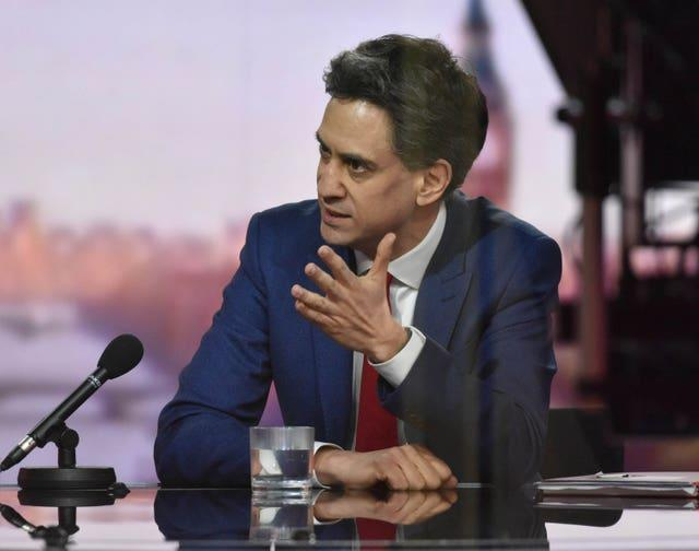 Shadow business secretary Ed Miliband said it was important for Aria to be transparent about its spending