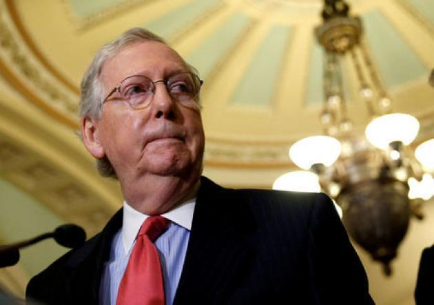 How McConnell kept Republicans in line to win Senate tax bill