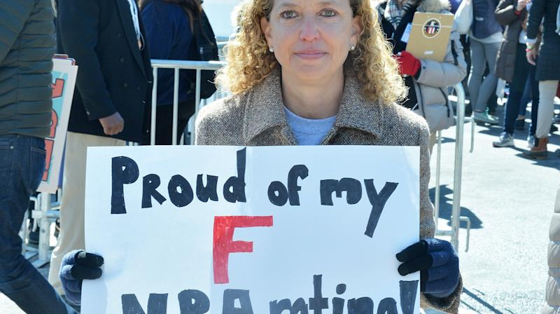 Rep. Debbie Wasserman Schultz (D-Fla.) had stern words for the National Rifle