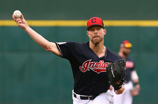 The Klubot heads a dominant Cleveland rotation. (AP Photo/Ross D. Franklin)