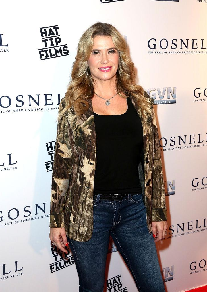 Kristy Swanson is defending President Trump. (Photo: Maury Phillips/Getty Images)