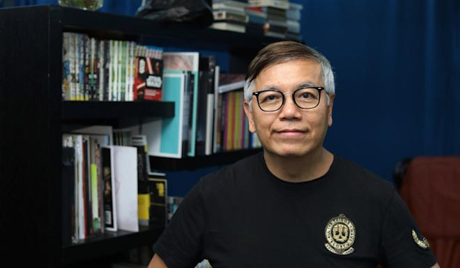 Tenky Tin, chairman of the executive committee of the Federation of Hong Kong Filmmakers. Photo: Roy Issa