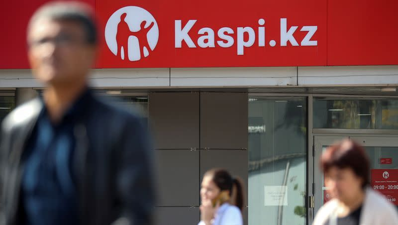 Exclusive: Kazakhstan's Kaspi may revive London float after Tinkoff deal- sources