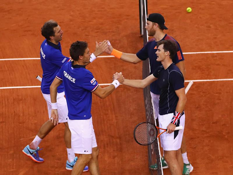 Murray and Inglot could not stop France from beating Great Britain 3-0: Getty