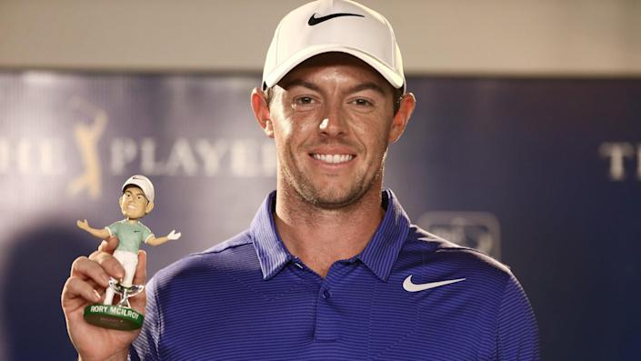 """<ul> <li><strong>Age:</strong> 32</li> <li><strong>Major wins:</strong> 4 (2011 U.S. Open, 2012 PGA Championship, 2014 British Open, 2014 PGA Championship)</li> <li><strong>Total Pro Wins:</strong> 28</li> </ul> <p>The popular golfer from Northern Ireland was seen as the next Tiger Woods when he won his third and fourth majors in 2014, and he signed a huge endorsement deal with Nike. However, he has come up short in his attempts to win the Masters to complete the career Grand Slam.</p> <p><a href=""""https://www.gobankingrates.com/net-worth/sports/what-is-rory-mcilroy-net-worth/?utm_campaign=1106364&utm_source=yahoo.com&utm_content=14"""" rel=""""nofollow noopener"""" target=""""_blank"""" data-ylk=""""slk:Click through to see what his net worth adds up to."""" class=""""link rapid-noclick-resp"""">Click through to see what his net worth adds up to.</a></p> <p><em><strong>Find Out More: <a href=""""https://www.gobankingrates.com/net-worth/sports/biggest-sports-contracts-ever/?utm_campaign=1106364&utm_source=yahoo.com&utm_content=15"""" rel=""""nofollow noopener"""" target=""""_blank"""" data-ylk=""""slk:Biggest Sports Contracts Ever"""" class=""""link rapid-noclick-resp"""">Biggest Sports Contracts Ever</a></strong></em></p> <p><small>Image Credits: Debby Wong / Shutterstock.com</small></p>"""