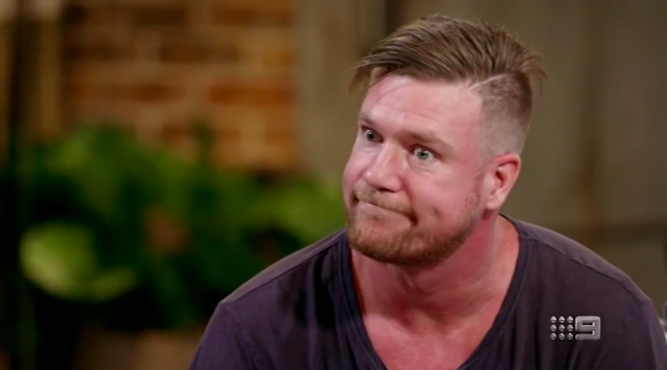 Dean claims Tracey never asked him to stop sending her sexy texts. Photo: Nine