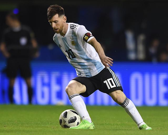 Argentina's friendly match against Israel, scheduled for Saturday in Jerusalem, has reportedly been canceled amid safety concerns and mounting Palestinian pressure. (Getty Images)