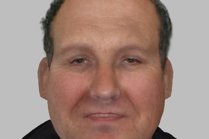 Police appeal: Scotland Yard have released this e-fit of James Smith: Met Police